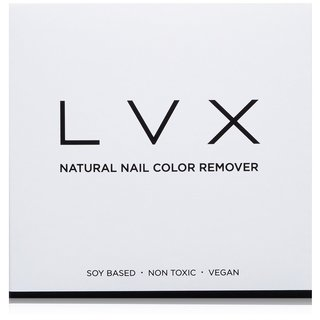 LVX Natural Nail Color Remover (12 Pads)