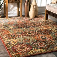 nuLOOM Traditional Oriental inspired Trellis Rug (4' x 6') - 4' x 6'
