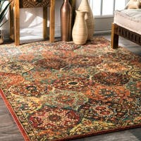 nuLOOM Traditional Oriental inspired Trellis Rug - 8' x 10'