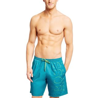 Hugo Boss Men's Kiliifish Blue Logo Swim Trunks
