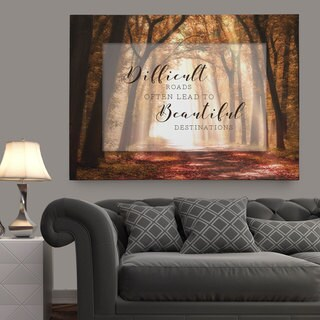Wexford Home 'Beautiful Destinations' Multicolored Gallery-wrapped Canvas Artwork (3 Sizes Available) (3 options available)