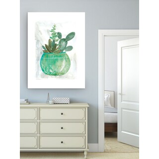Wexford Home 'Summer Succulent' Premium Gallery Wrapped Canvas