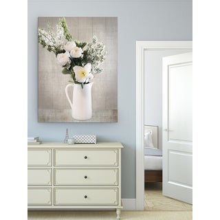 Wexford Home Denita Delimont 'Farmhouse Bouquet I' Premium Gallery Wrapped Canvas Wall Art