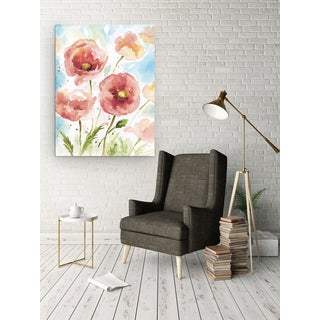 Wexford Home 'Botanical Blush II' Premium Gallery Wrapped Canvas with 3 Sizes Available