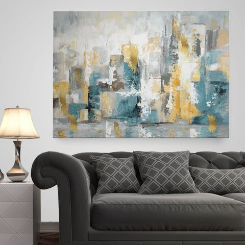 Wexford Home 'City Views I' Premium Gallery Wrapped Canvas Wall Art
