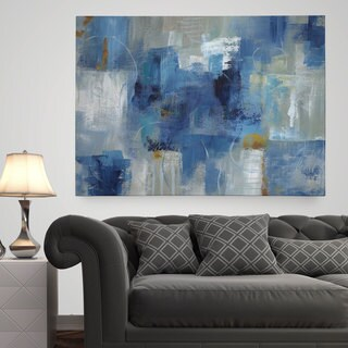 Wexford Home U0027Blue Morningu0027 Premium Gallery Wrapped Canvas ...