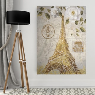 Wexford Home 'Le Jardin Eiffel' Premium Gallery-wrapped Canvas Wall Art - 3 Sizes Available