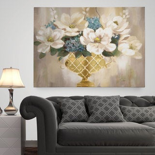 Wexford Home 'Southern Magnolia' Premium Gallery Wrapped Canvas Wall Art