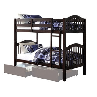 Acme Furniture Heartland Espresso Twin over Twin Bunk Bed
