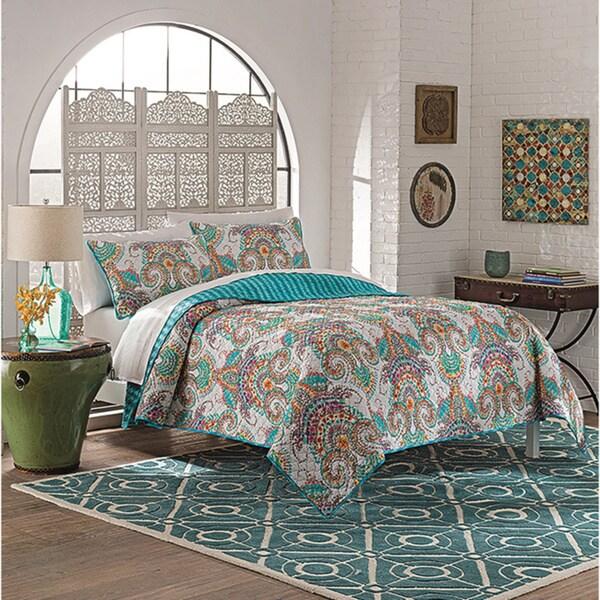 Vue Daria 100% Cotton 3-piece Quilt Set