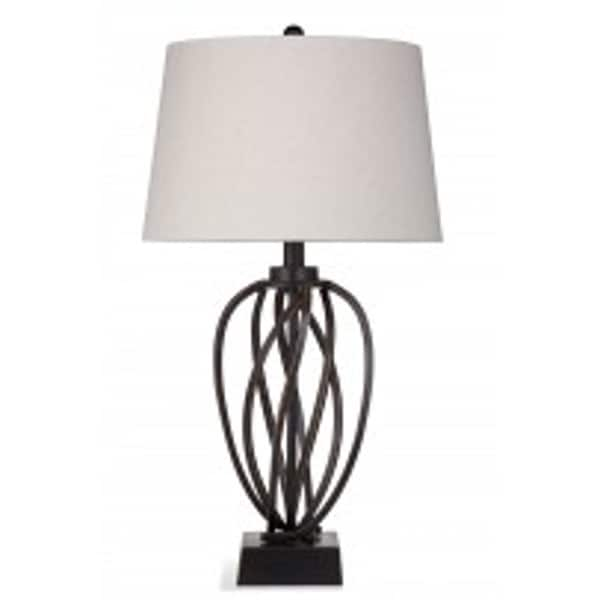 Orson 33-inch Brown Ceramic Table Lamp