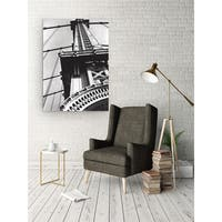Wexford Home 'Eiffel Tower' White/Black Gallery-wrapped Canvas Artwork (3 Sizes Available)