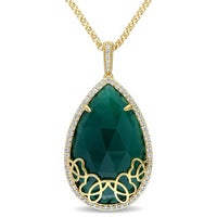 Solitaire Gemstone Necklaces