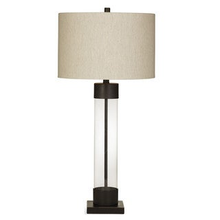 Brannan 33-inch Brown Metal Table Lamp