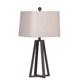 Denison 29-inch Brown Metal Table Lamp