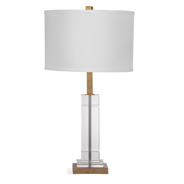 Mitchum 27-inch Clear Crystal Table Lamp