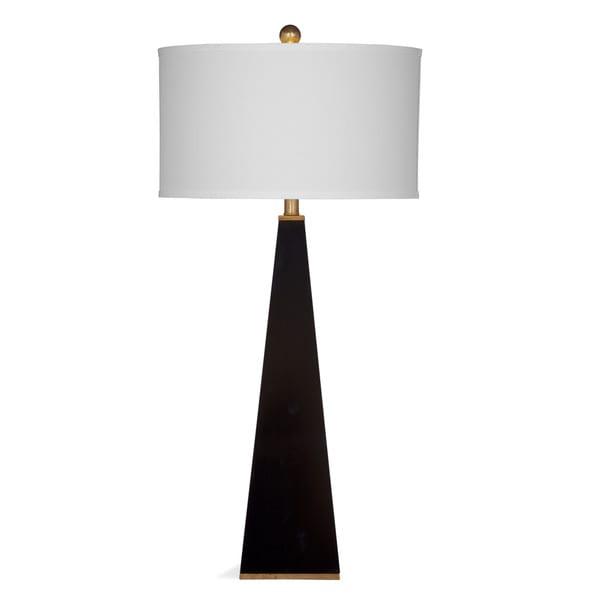 Elle 36-inch Black Resin Table Lamp