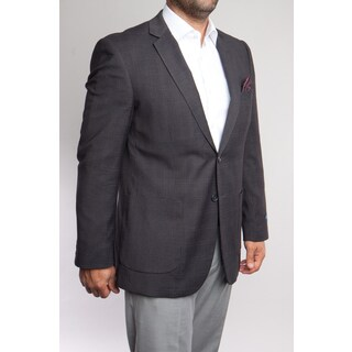 Men's Grey Wool Blazer