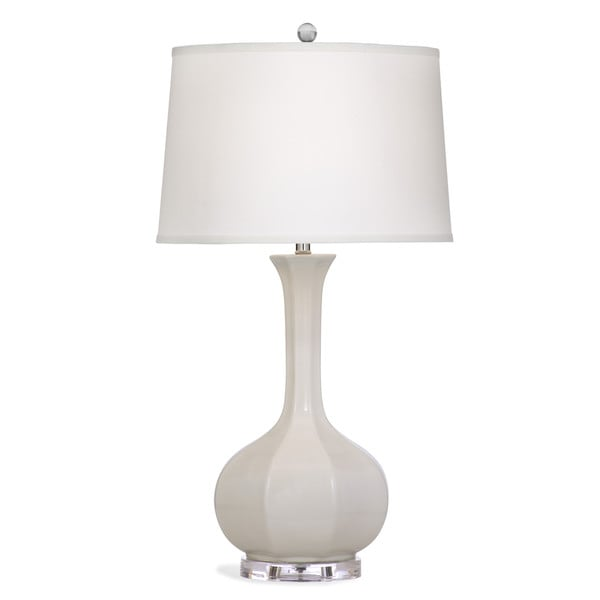 Sophia 32-inch Silver Ceramic Table Lamp