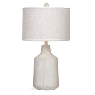 Dalton 26-inch Grey Natural Table Lamp