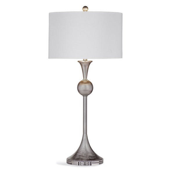 Beatty 34-inch Silver Metal Table Lamp