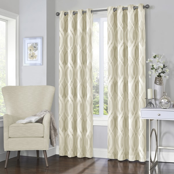 Eclipse Caprese Thermalayer Blackout Window Curtain Free