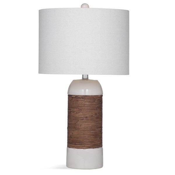 Reyner 27-inch White Resin Table Lamp