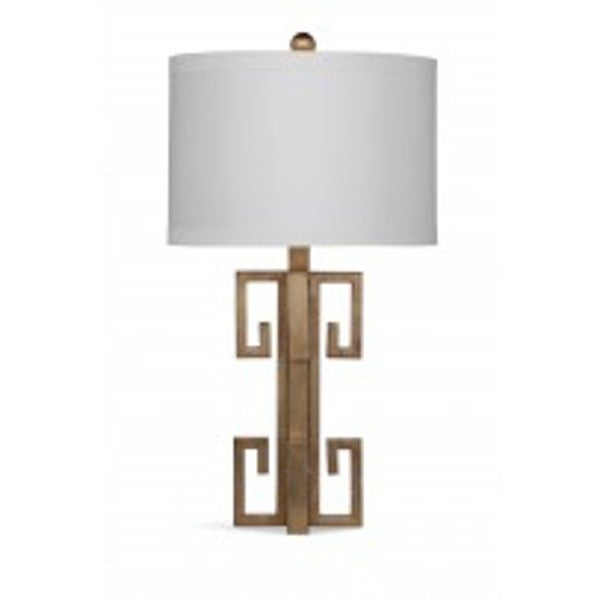 Ellery 36-inch Gold Glass Table Lamp