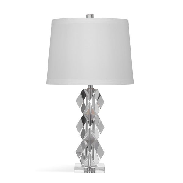 Carrigan 27-inch Clear Metal Table Lamp