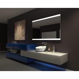 IB MIRROR DIMMABLE Lighted Bathroom Mirror GALAXY 60 In X 36 In 6000 K