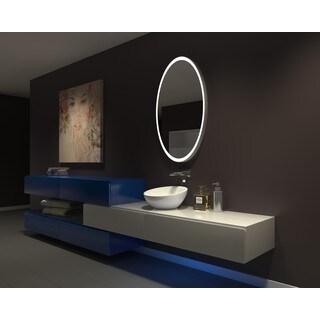 IB MIRROR DIMMABLE Lighted Bathroom Mirror GALAXY 30 In X 48 In 3000 K