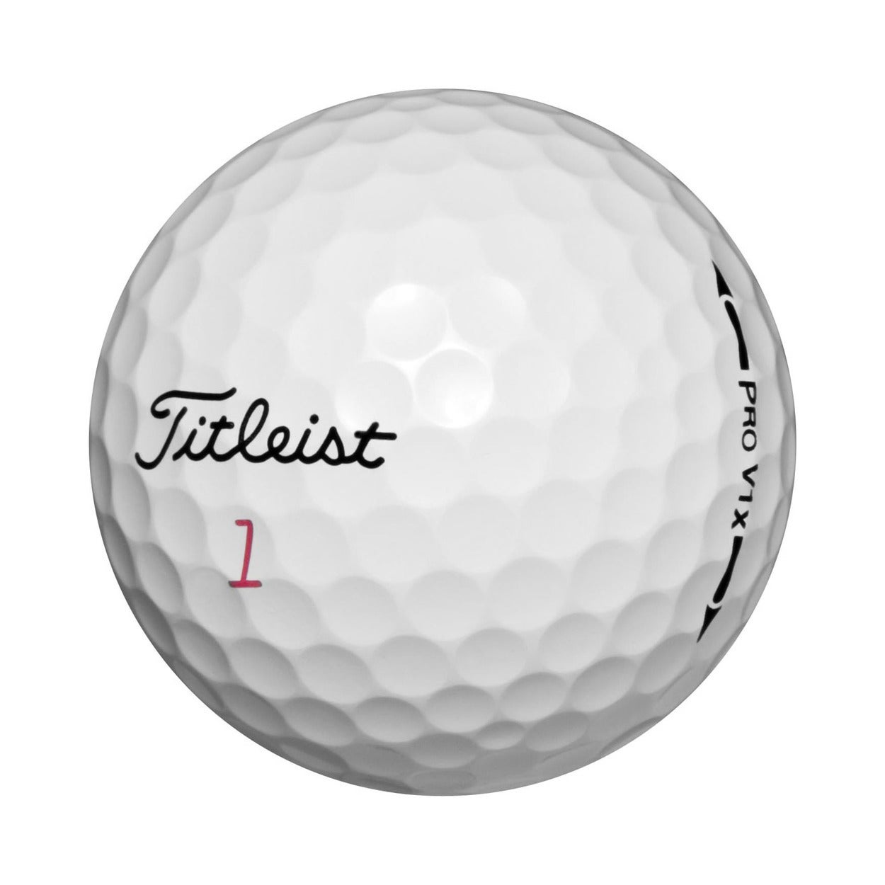 Titleist Pro V1x Recycled Golf Balls (Pack of 36) (White)