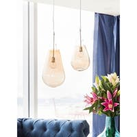 Aurelle Home Dew Pendant Lamp Large Gold