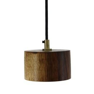 Rustic Vintage Wood Pendant Lamp