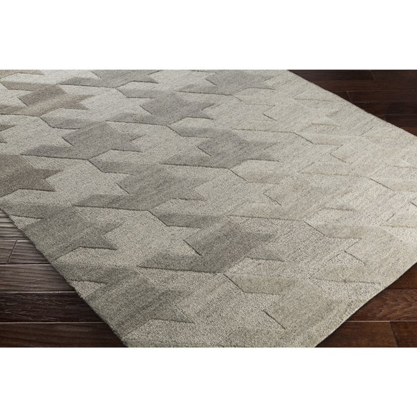 Hand-Tufted Angselle Wool Area Rug - 5' x 7'6""