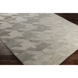 "Hand-Tufted Angselle Wool Rug (5' x 7'6"")"