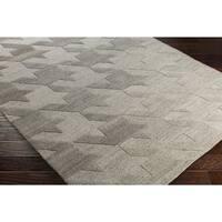 Hand-Tufted Angselle Wool Area Rug (5' x 7'6)