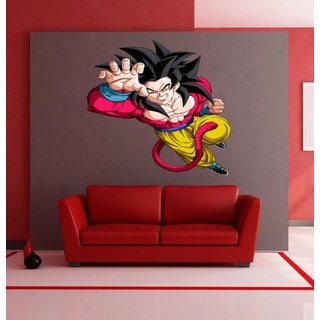 Full Color Dragon Ball Z Full Color Decal, Dragon Ball Z Full Color Sticker, Sticker Decal size 33x39