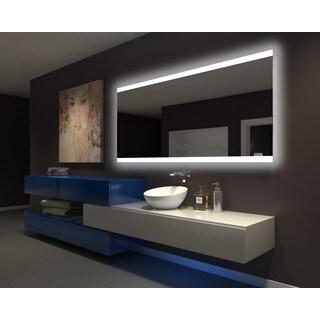 IB MIRROR DIMMABLE Backlit Bathroom Mirror PARIS 80 In X 35 In 3000 K
