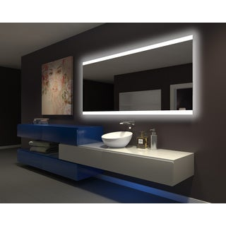 IB MIRROR DIMMABLE Backlit Bathroom Mirror PARIS 80 In X 35 In 6000 K