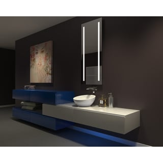 IB MIRROR DIMMABLE Lighted Bathroom Mirror VERANO 65 In X 24 In 6000 K