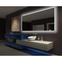 IB MIRROR DIMMABLE Backlit  Bathroom Mirror RECTANGLE 100 In X 45 In 6000 K
