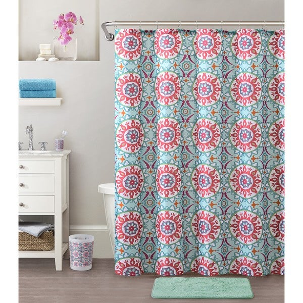 VCNY Home Lola 18-piece Shower Curtain Bath Set