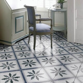 SomerTile 9.75x9.75-inch Concept Monastery Porcelain Floor and Wall Tile (16/Case, 10.76 sqft.)