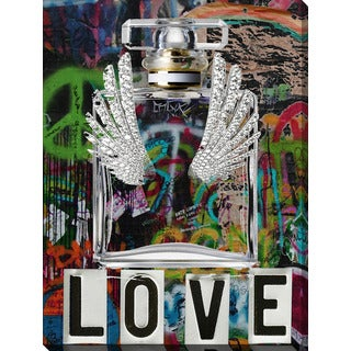 BY Jodi 'Wings Love 2' Giclee Stretched Canvas Wall Art
