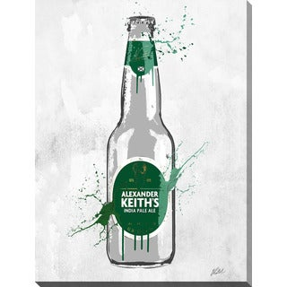 PPI Studio 'Drink Alexander Keiths' Giclee Stretched Canvas Wall Art