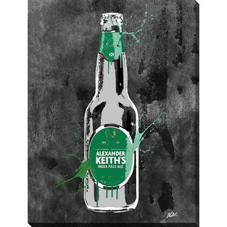 PPI Studio 'Drink Alexander Keiths - Inverted' Giclee Stretched Canvas Wall Art