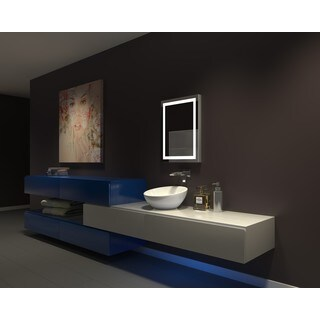 IB MIRROR DIMMABLE Lighted Bathroom Mirror Harmony 20 In X 26 In 3000 K