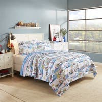 Havenside Home Boca Raton Reversible Cotton Quilt Set