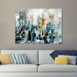 Toronto' Giclee Stretched Canvas Wall Art